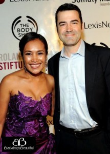Ron Livingston & Somaly Mam