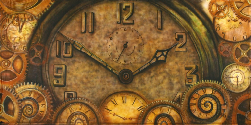 Clocks Backdrop by Backdrops Beautiful