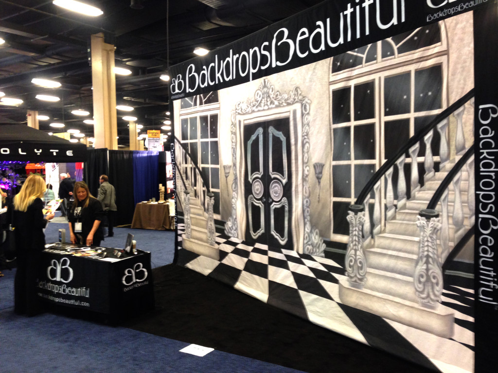 Ballroom 1 Backdrop at TSE2014