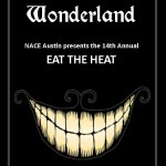 Eat The HEat 2014 Wonderland Flyer