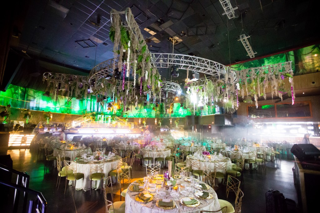 Event Photo - Rainforest Backdrops Room Wrap!