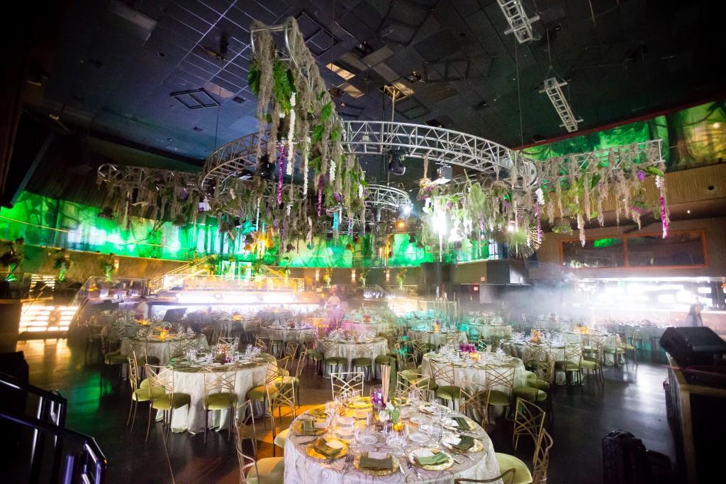 Event Photo - Rainforest Backdrops Room Wrap!