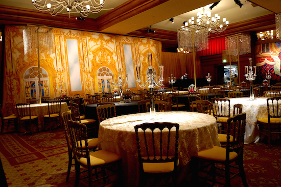 Interior Palace Gold Wedding