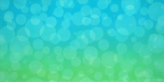Bubbles5 Aqua - 20x10