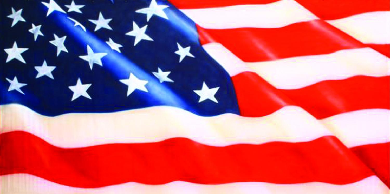July 4th USA Flag 1A Backdrop
