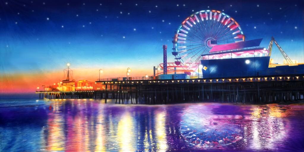 Pier 2 Carnival Backdrop