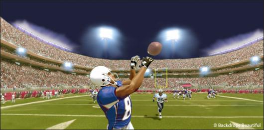 How To - Football 2 backdrop