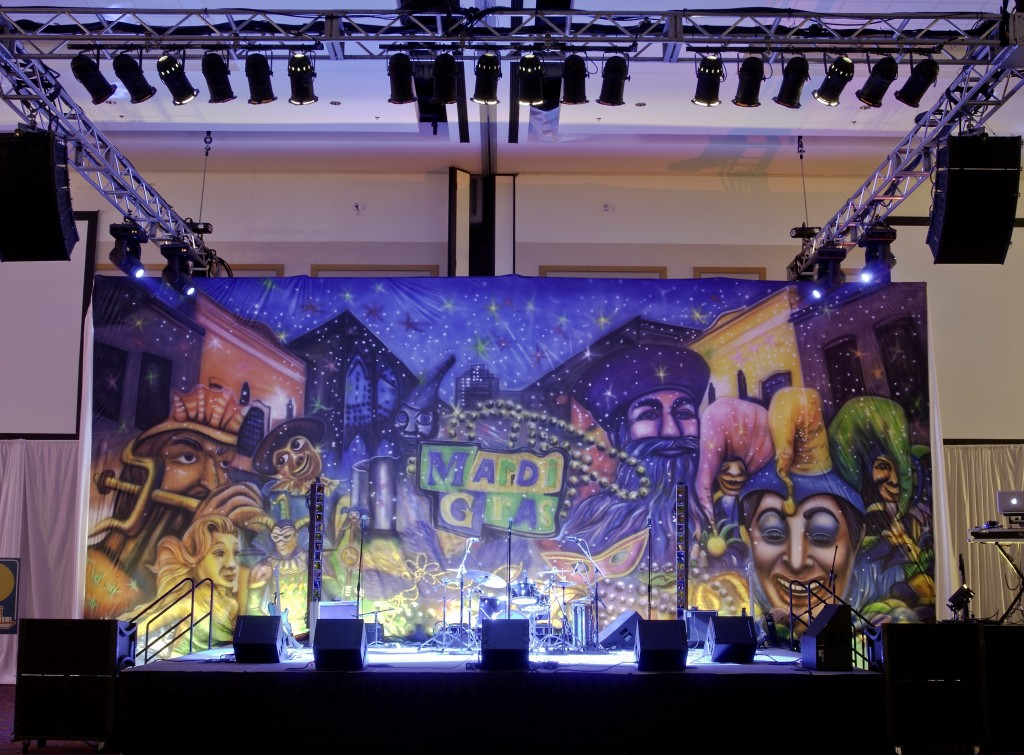 Mardi Gras 1 Backdrop
