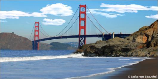 How To: San Francisco 5 backdrop