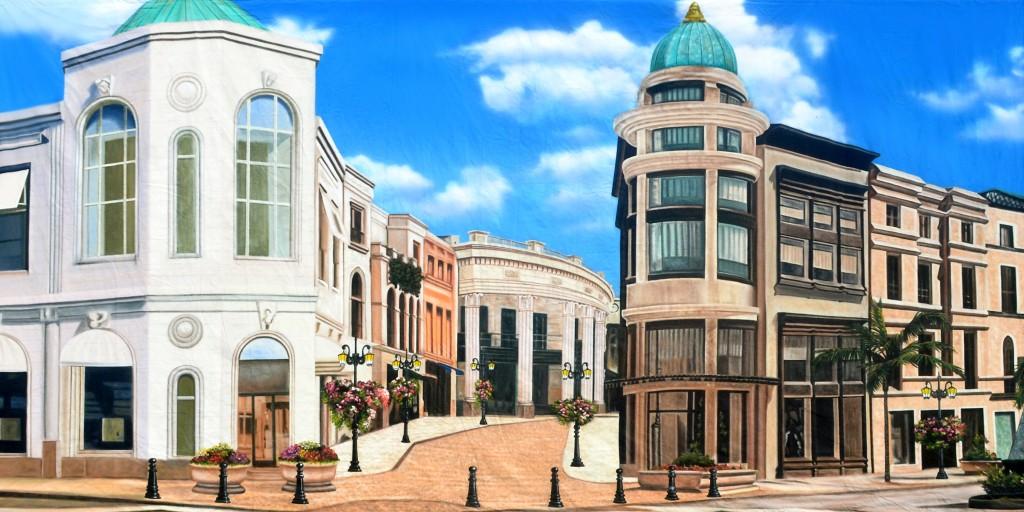 New Backdrop - Street Mall 1