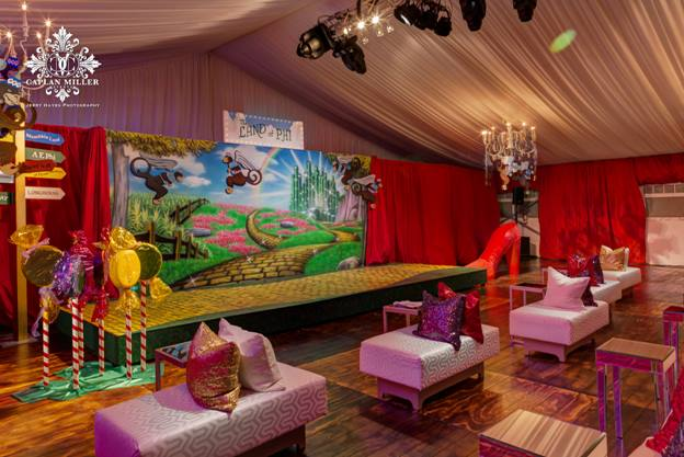 Event Photo - Wizard of Oz Backdrop