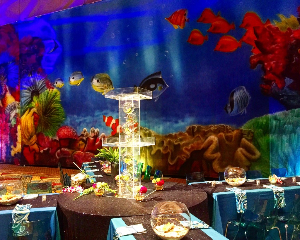 Coral Reef Backdrop - NACE Experience Gala 2016