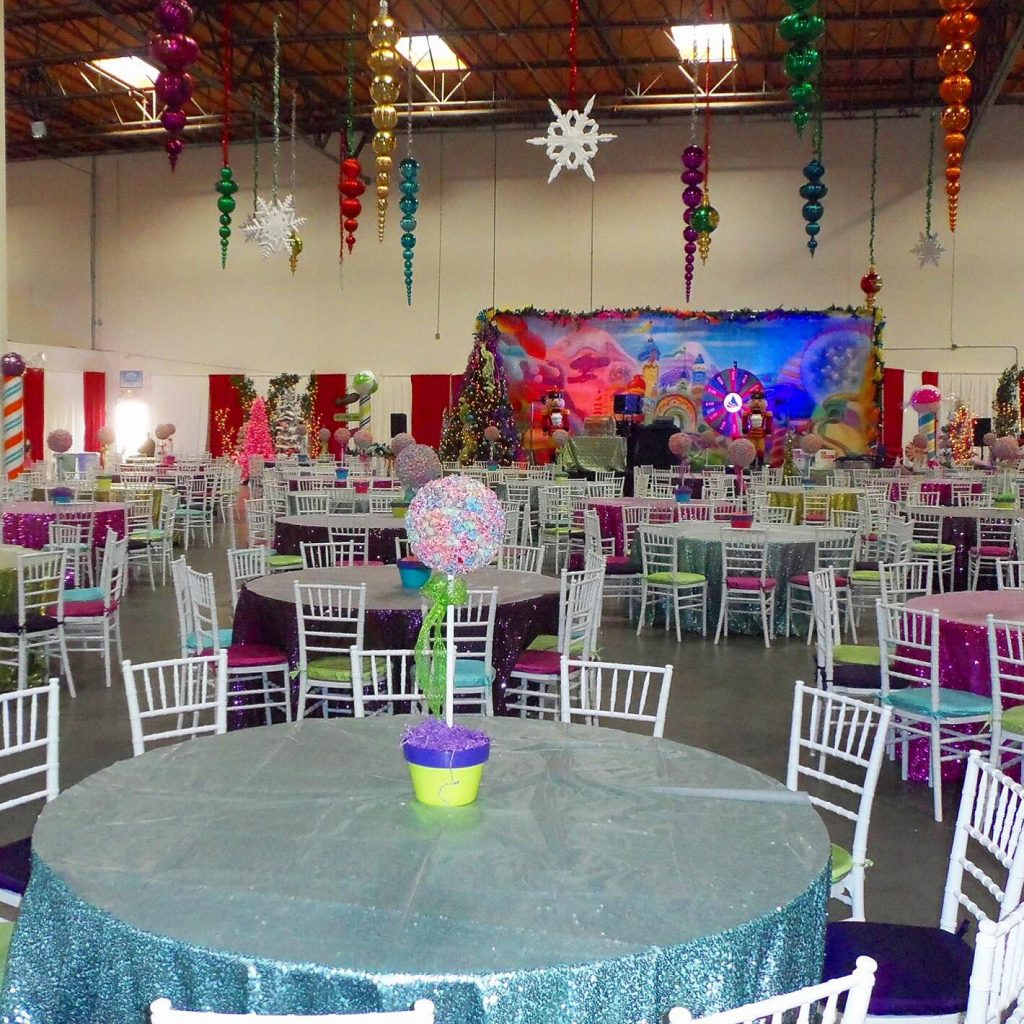 Bat Mitzvah - Candyland Backdrop