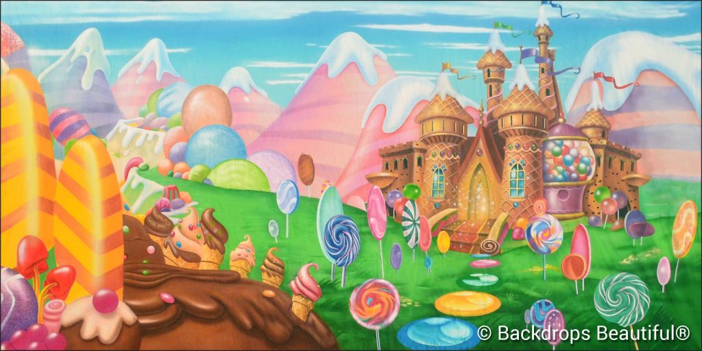 New Backdrops - Candyland 11