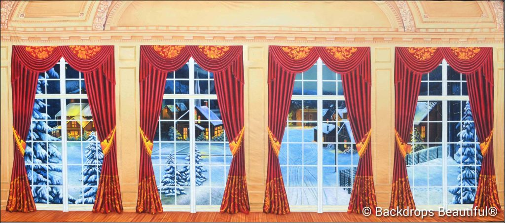 New Backdrops - Mansion View 17 Drapes