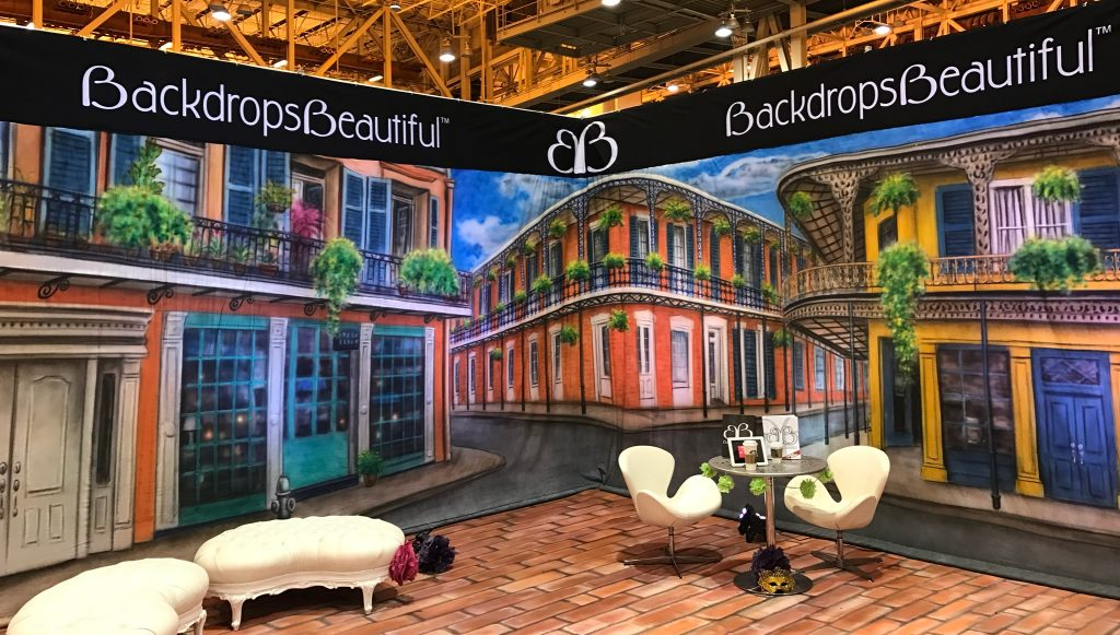 New Orleans - Catering Backdrops