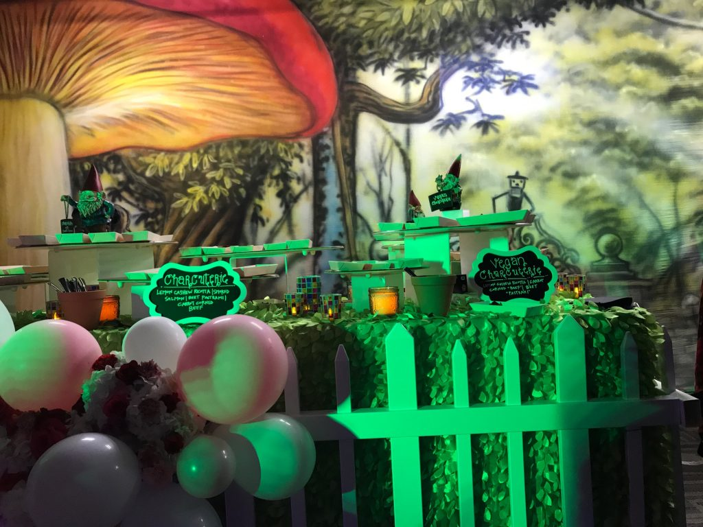 Alice in Wonderland - Catering Backdrops
