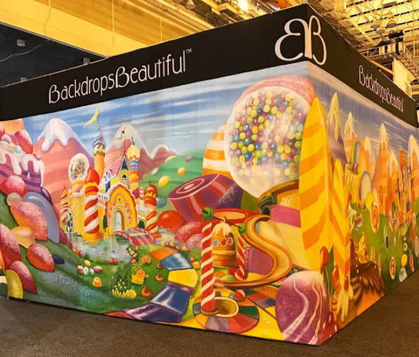 Candyland - Catering backdrops