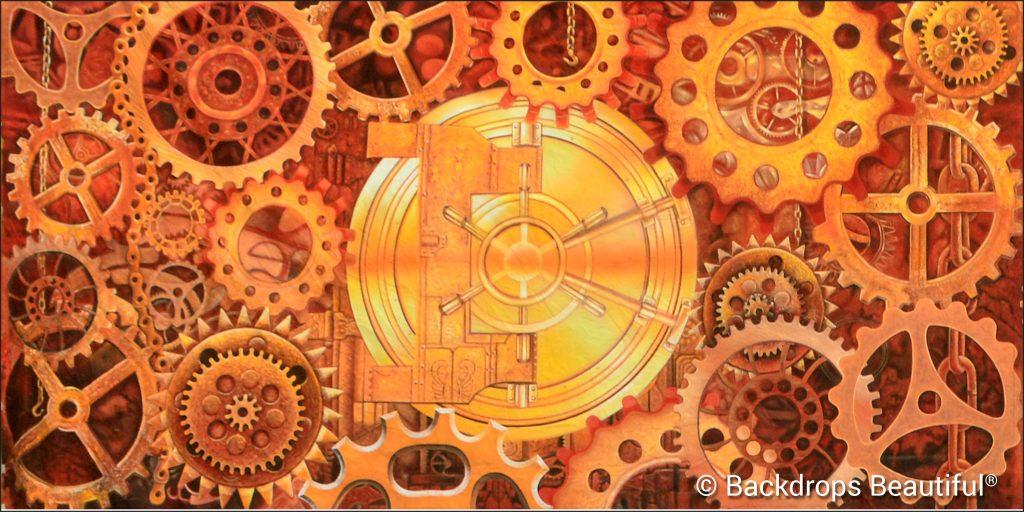 Steampunk 4D Backdrop - VBS Themes