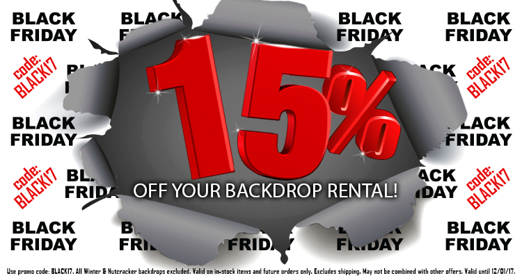 Black Friday 2017 - 15% off!