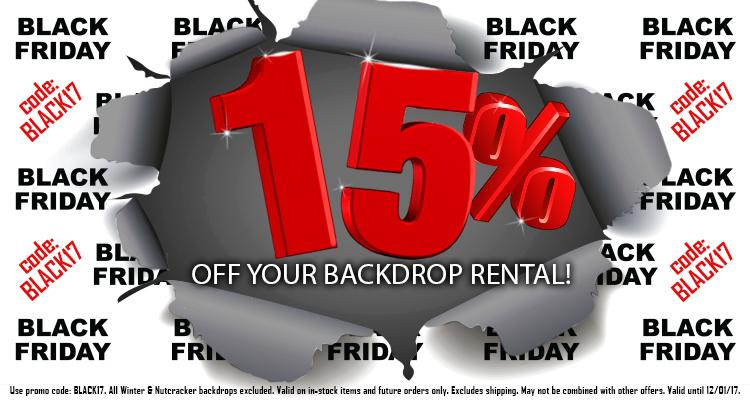 Black Friday 2017 - 15% off!