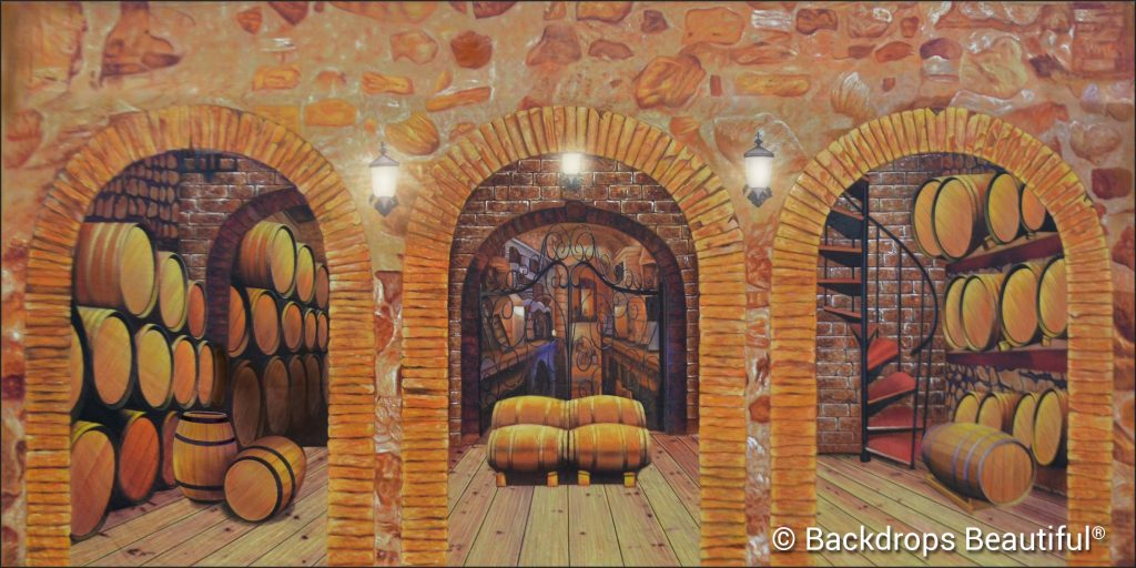 New Backdrops - Wine Cellar 1