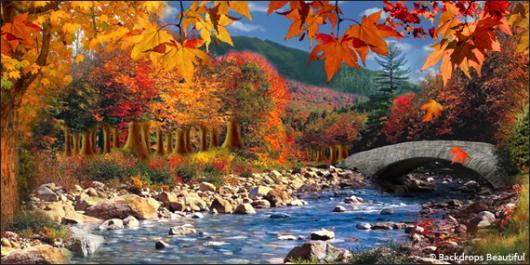 Fall Event Design Inspiration - Woodlands 5 River