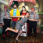 Alice In Wonderland 3 Backdrop - 30X15 - NACE Austin Eat The Heat Event Pic2