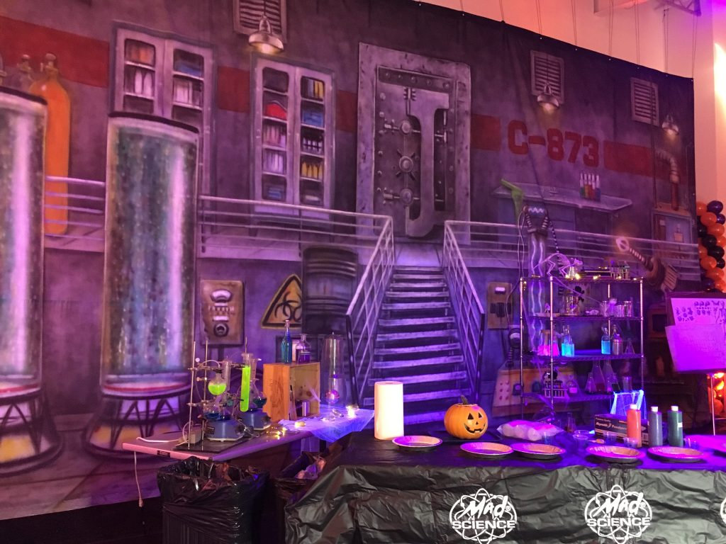 Halloween Party Décor - Lab Interior
