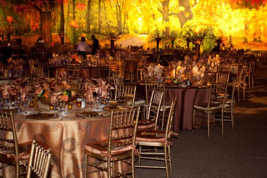 Fall Event Design Inspiration - Woodlands 7 Road