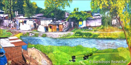 Backdrops: Rural Village 1
