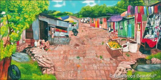 Backdrops: Rural Village 2