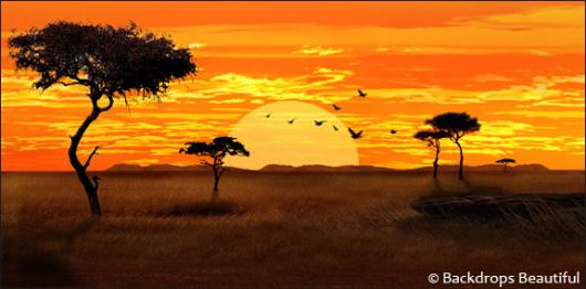 Backdrops: African Savannah 5