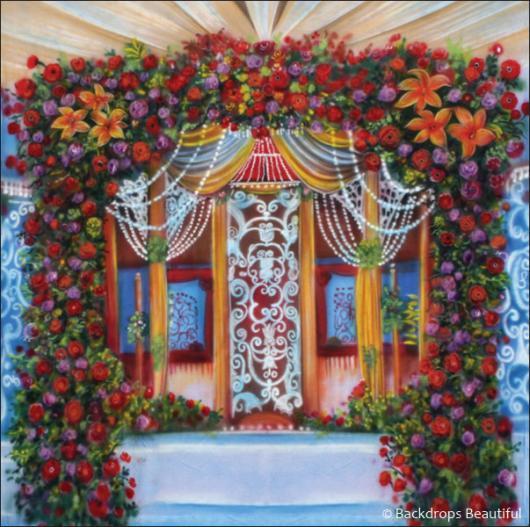 Wedding Canopy Backdrop 2 | Backdrops Beautiful