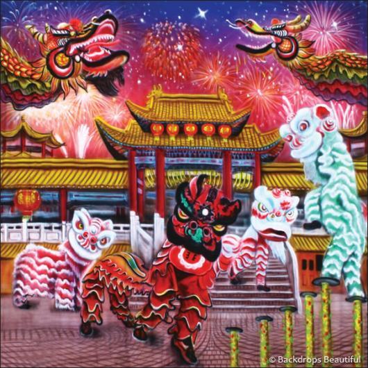 Backdrops: Lunar New Year 3