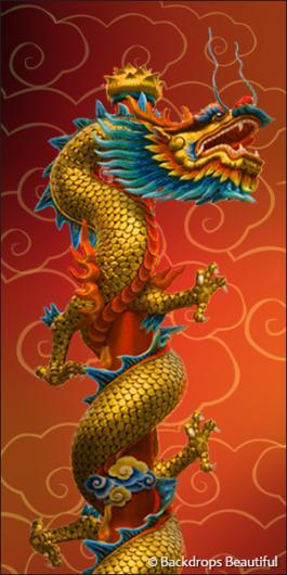 Backdrops: Asian Dragon 2 (Alt View)