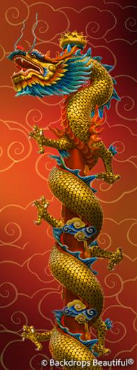 Backdrops: Asian Dragon 3