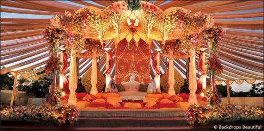 Backdrops: Indian Mandap 1
