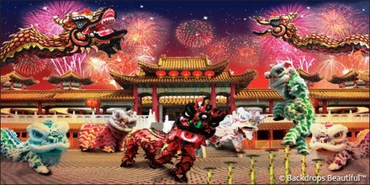 Backdrops: Lunar New Year 5