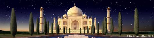 Backdrops: Indian Taj Mahal 2