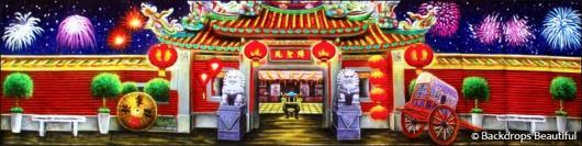 Backdrops: Lunar New Year 4B