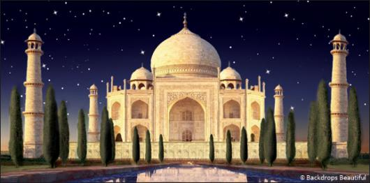 Backdrops: Indian Taj Mahal 1