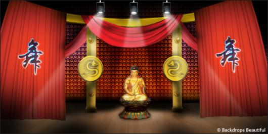 Backdrops: Asian Stage