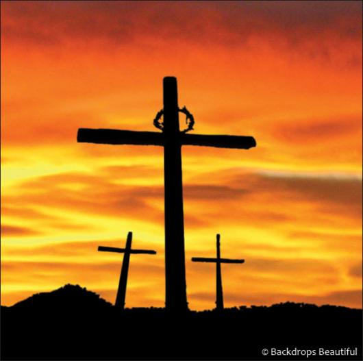 Backdrops: Easter Cross 3