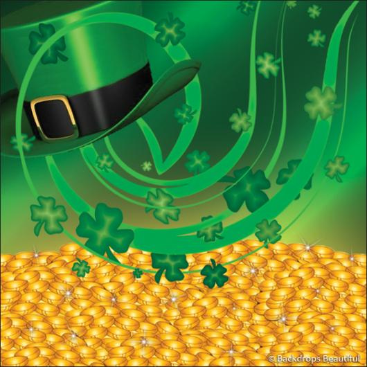 Backdrops: Irish Luck 3 Clovers