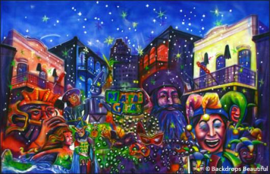 Backdrops: Mardi Gras 2b