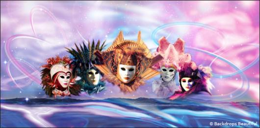 Backdrops: Venetian Masks 1