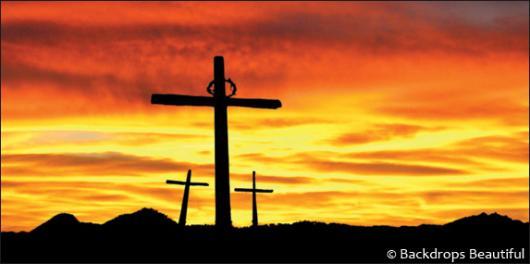 Backdrops: Easter Cross 2