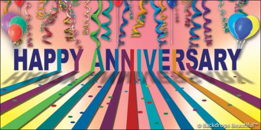 Backdrops: Celebrate 5 Anniversary