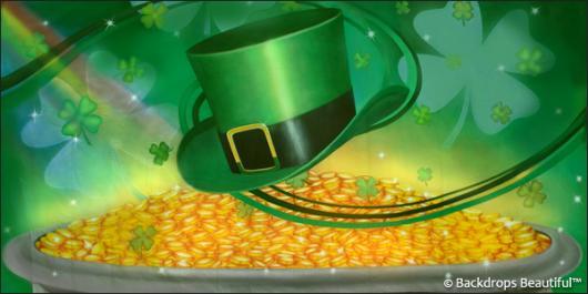Backdrops: Irish Luck 4 Clovers
